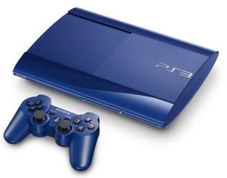 Ps3 slim 500g azul