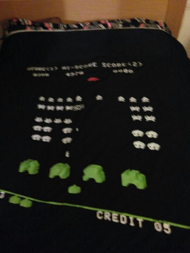 Funda nórdica con grabado/estampado Space Invaders
