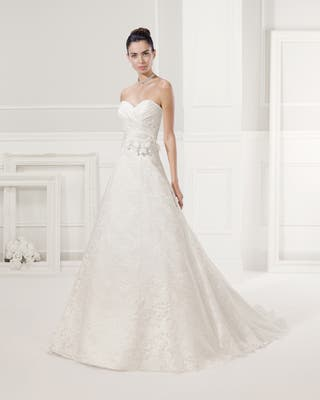 Vestido novia modelo frescura alma novias