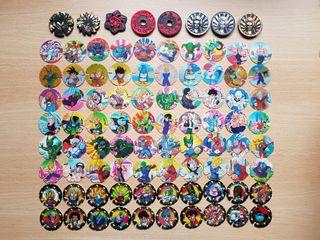 Colección completa tazos Dragon Ball Matutano