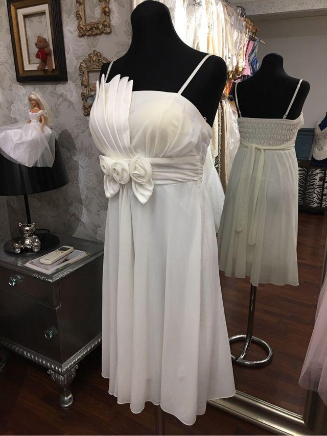 Vestido novia/fiesta alquiler
