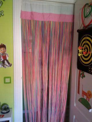 cortina de hilos preciosa