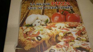 200 cajas pizza.