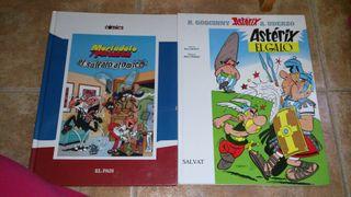 Cómic Mortadelo y Filemón/Asterix y obelix