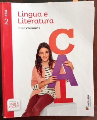 Lingua e Literatura 2 ESO (galego) Santillana