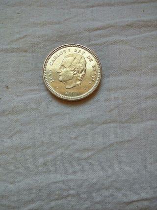 Moneda de 100 ptas 2001