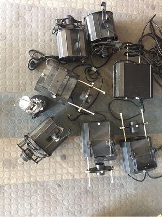 Set proyectores de gobos