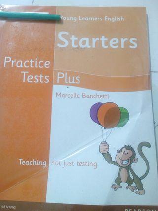 Libro escolar Starters Cambridge
