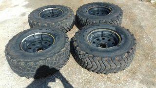 ruedas de jeep