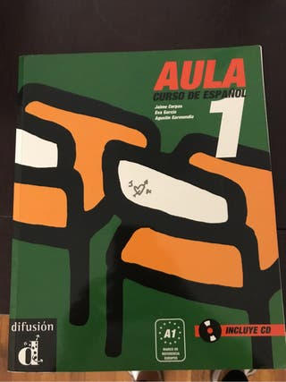 Book for learning Spanish aula 1