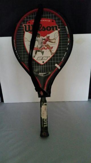 raqueta de tenis senior