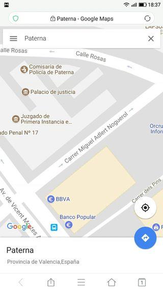 Alquilo plaza de garaje Paterna