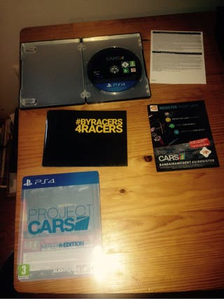 Juego proyect cars PS4