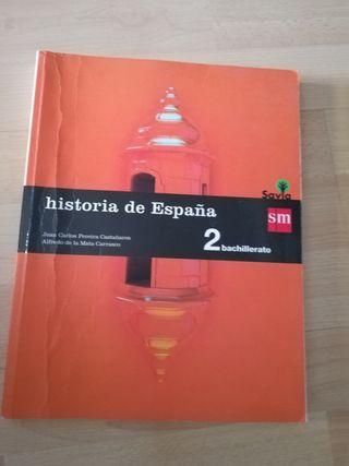 libro Historia SM 2 bachillerato