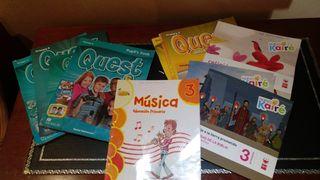 libros de sexto y tercero de primaria