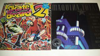 Pack 2 LP Skate Board 2 + Maquina Total 2