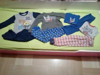 lote pijamas niño talla 4-5 años