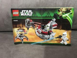 Star wars lego manual