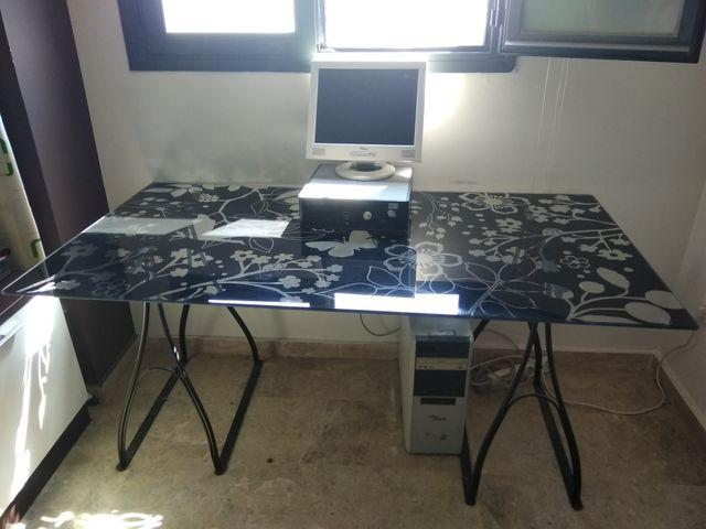 Mesa escritorio oficina despacho de segunda mano por 49 € en ...