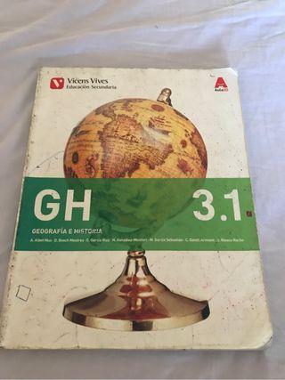 Libro geografia e historia 3º