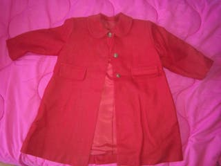 abrigo de vestir de niña 3 años
