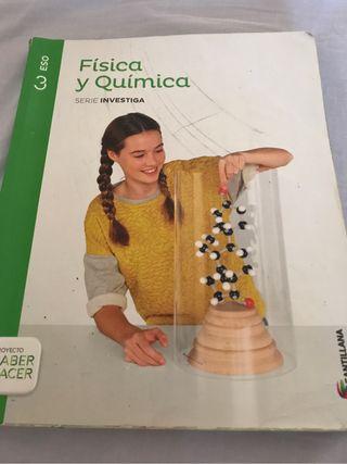 Libro fisica y quimica 3º ESO