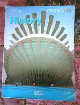Libro History 4 ESO OXFORD CLIL