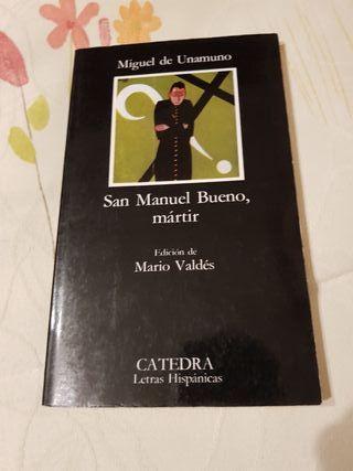 Libro San Manuel Bueno, mártir
