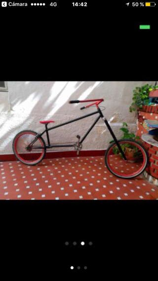 Bicicleta hecha a mano !!