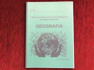 Llibre geografia grau superior