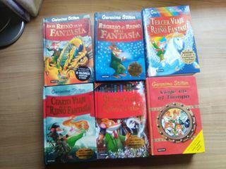 9 Libros infantiles Gerónimo Stilton
