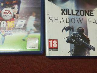 Killzone shadow fall y Fifa 16