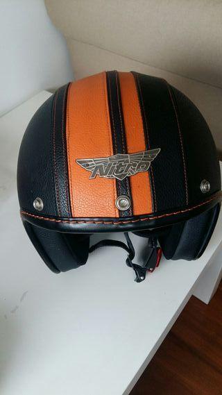 Casco moto Nitro