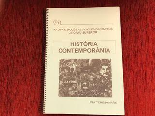 Llibre història contemporània