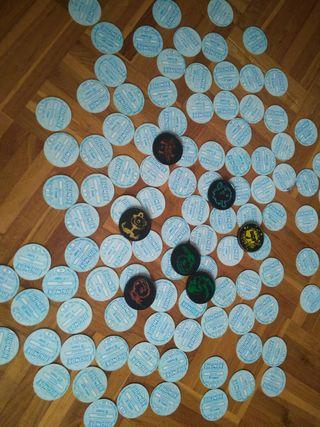 Colección de tazos Digimon