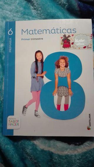 Libro escolar 6 de primaria