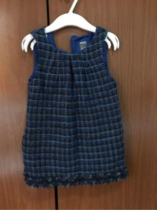 Vestido niña zara 2-3 años