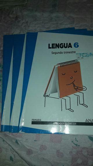 libro lengua 6°primaria