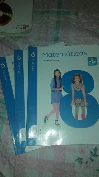 libro matematicas 6°primaria
