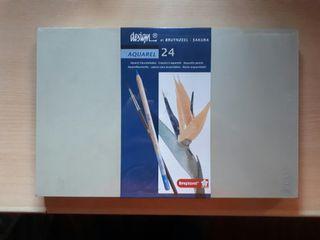 Aquarel pencils - design by BRUYNZEEL 24 set