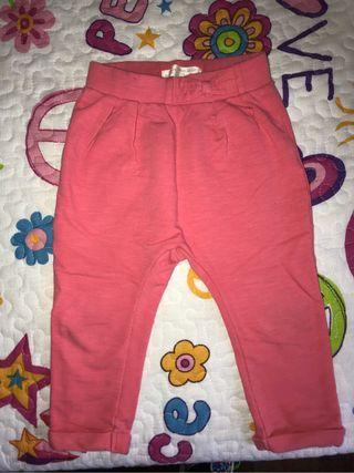 Pantalon bebe niña zara 12-18