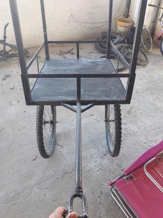 carrito para bicicletas