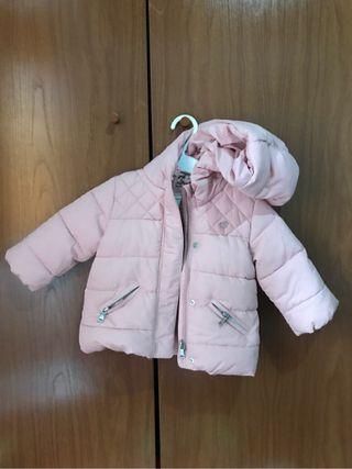 Abrigo bebe niña zara