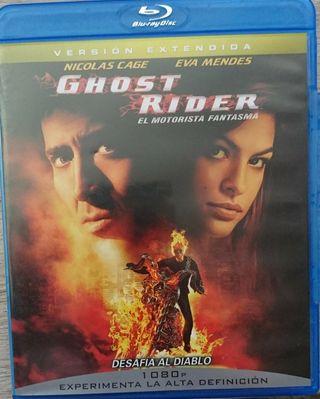 Ghost Raider Blue-ray: versión extendida