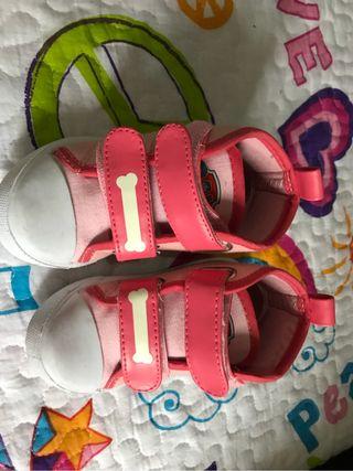 Zapatos tenis bebe niña 22