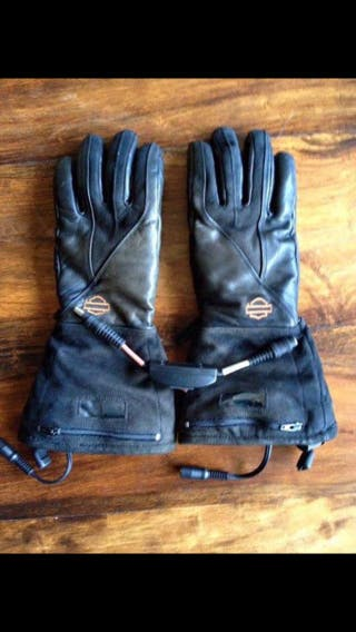 Guantes calefactables Harley