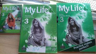 Libros de inglés My Life 3 de la ESO