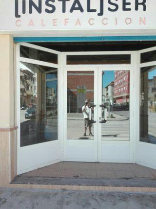 puerta para negocio