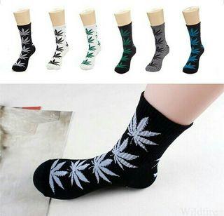 Weed socks largos