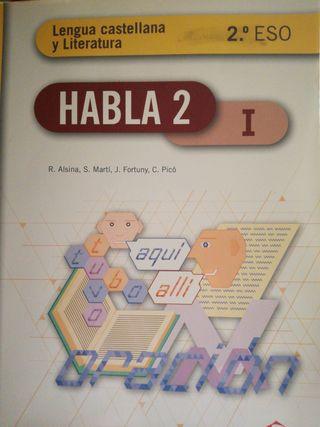 lengua castellana y literatura 2esoHabla I,II,III